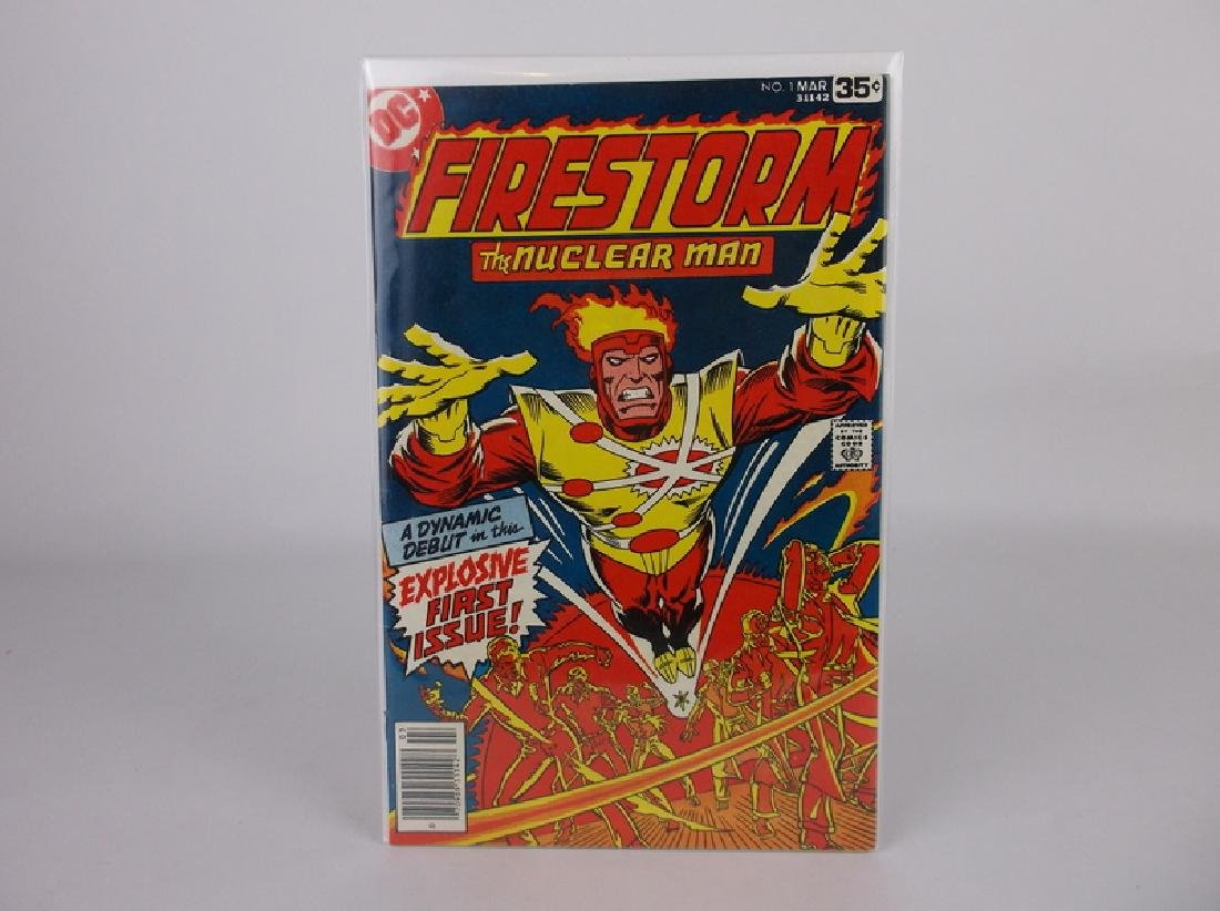 Nice 1978 DC Firestorm Comic Book #1