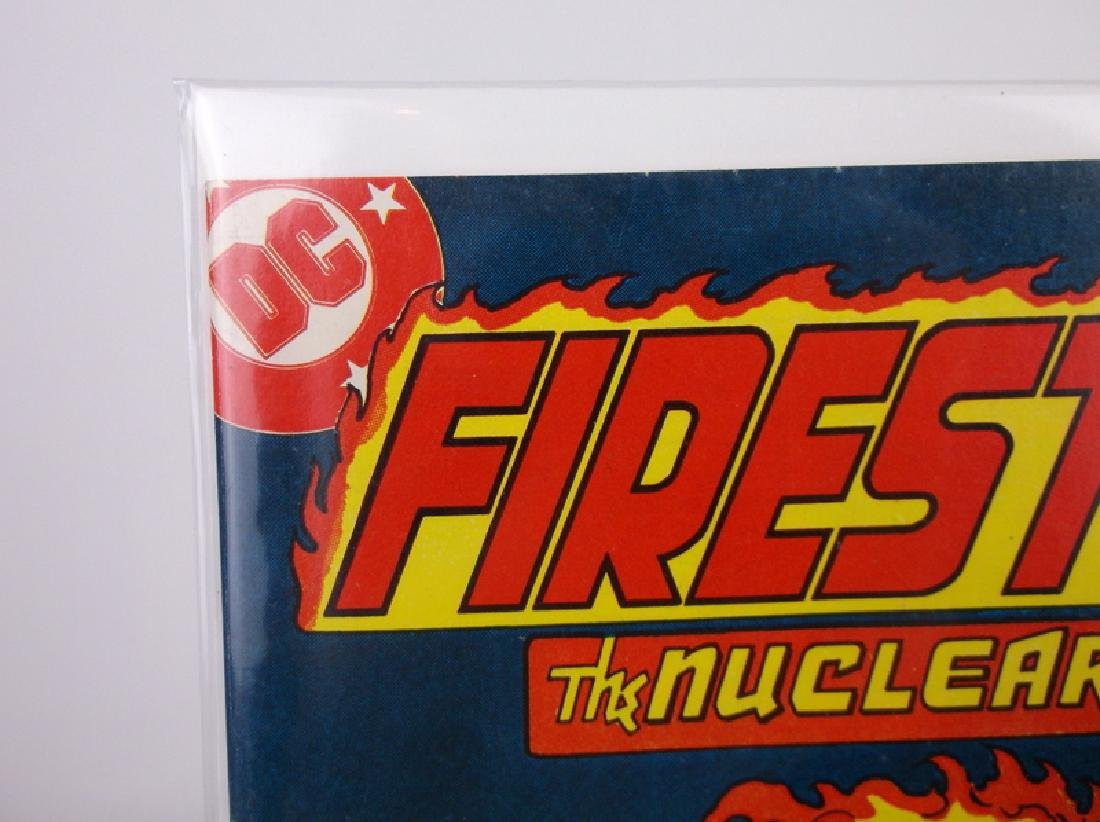 Nice 1978 DC Firestorm Comic Book #1 - 2