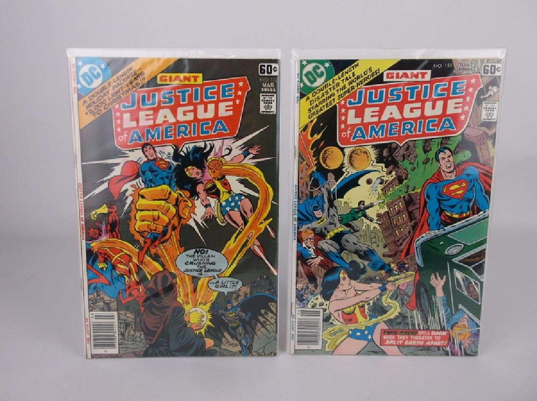 2 Nice 1978 DC Justice League Comic Books