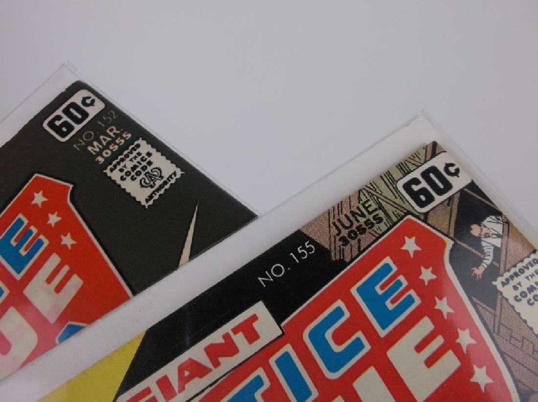 2 Nice 1978 DC Justice League Comic Books - 2