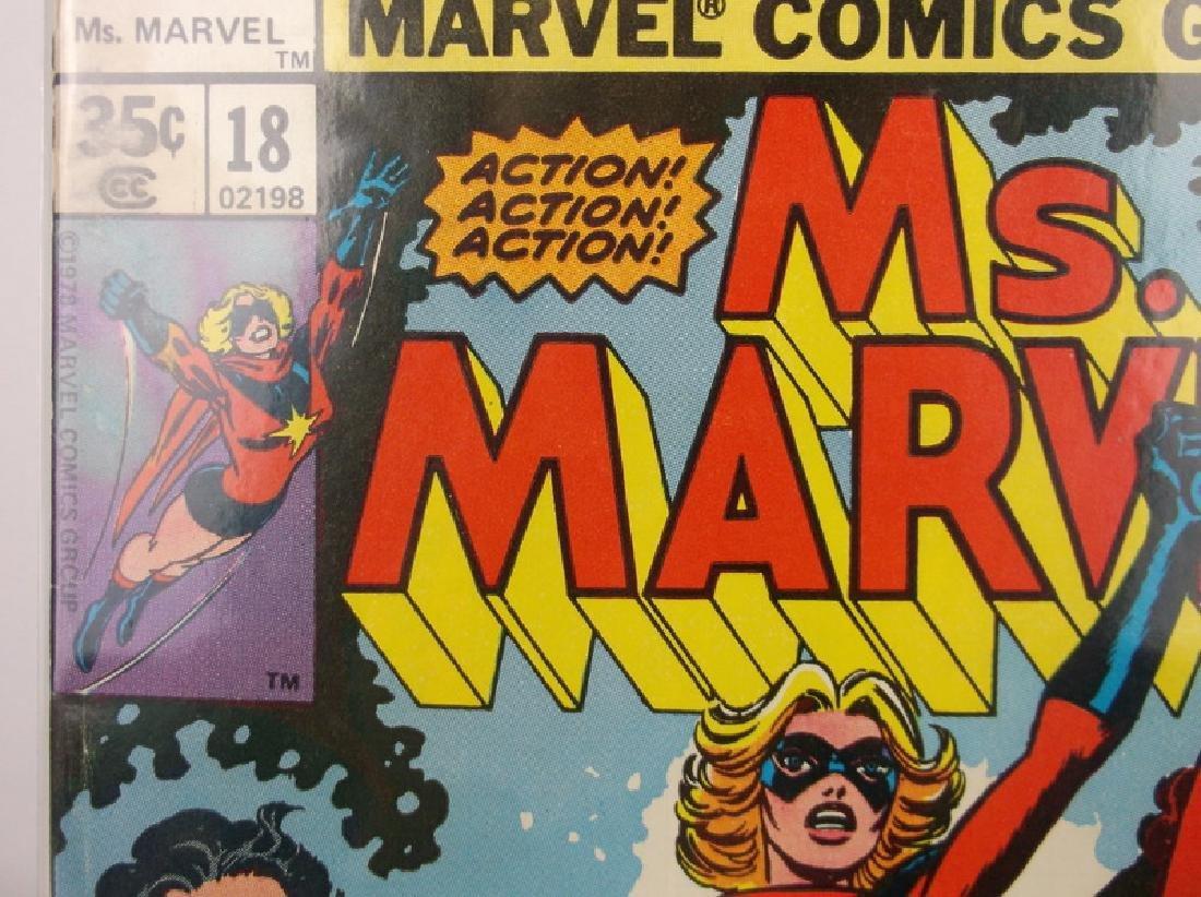 Nice 1978 Ms Marvel Comic Book #18 1st Mystique - 2