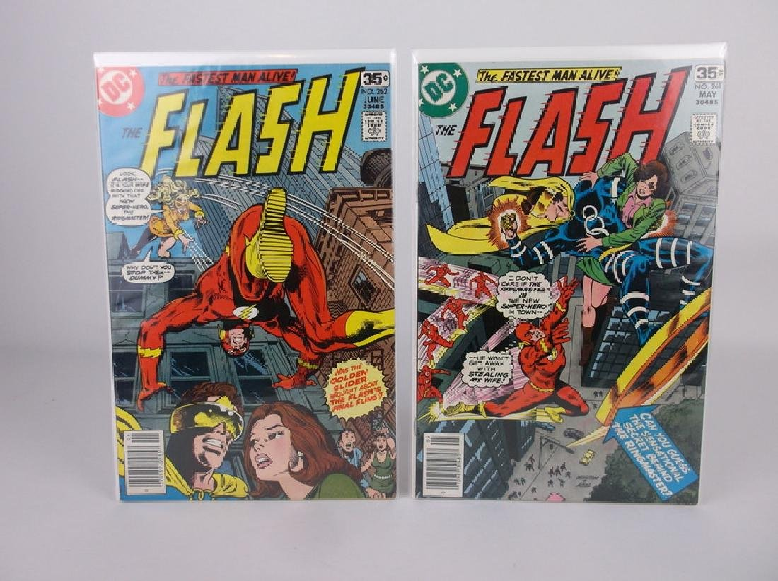 2 Nice 1978 DC The Flash Comic Books