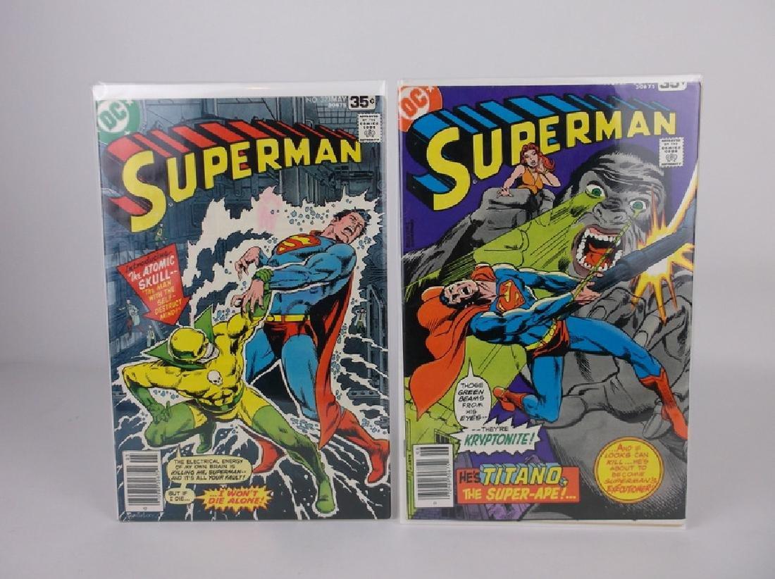 2 Nice 1978 Superman Comic Books DC
