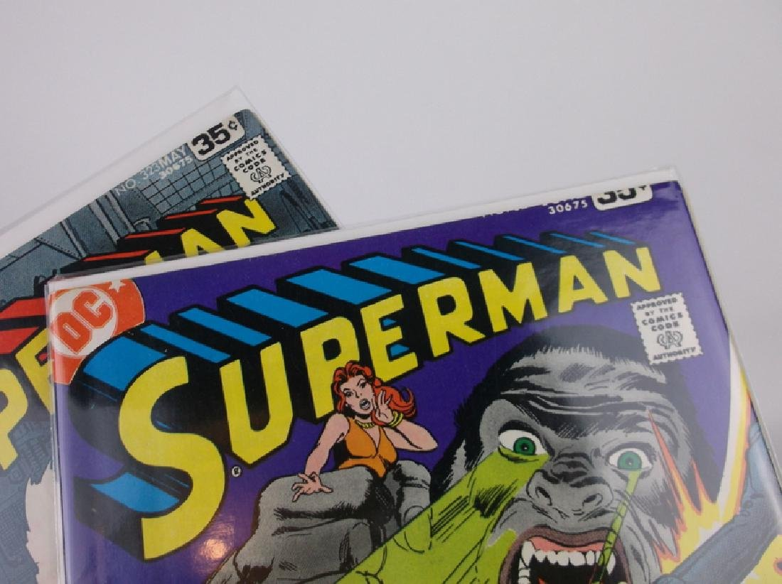 2 Nice 1978 Superman Comic Books DC - 2