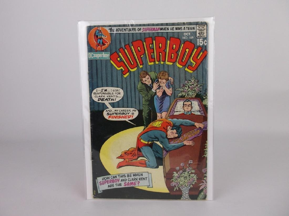 1970 DC Superboy Comic Book #169