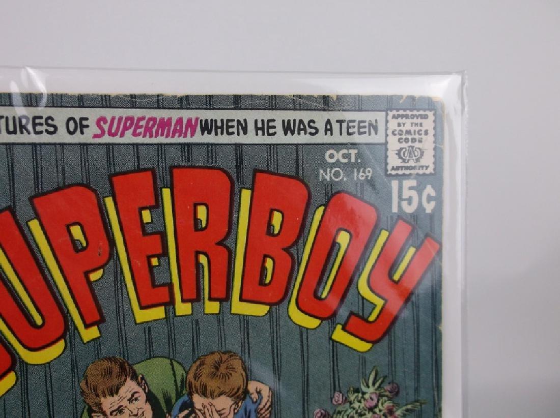 1970 DC Superboy Comic Book #169 - 2