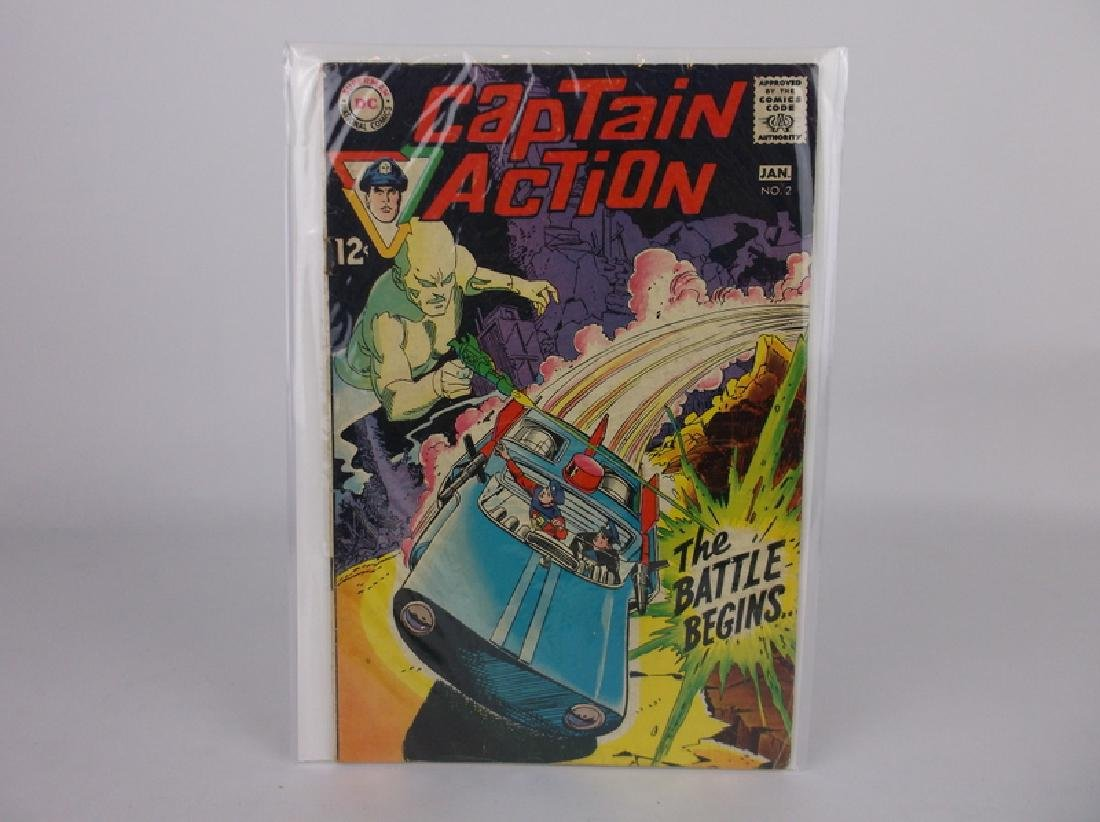 Nice 1969 Captain Action Comic Book #2 DC