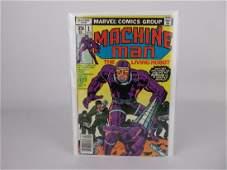 Nice 1978 Machine Man Comic Book #1 Kirby Art