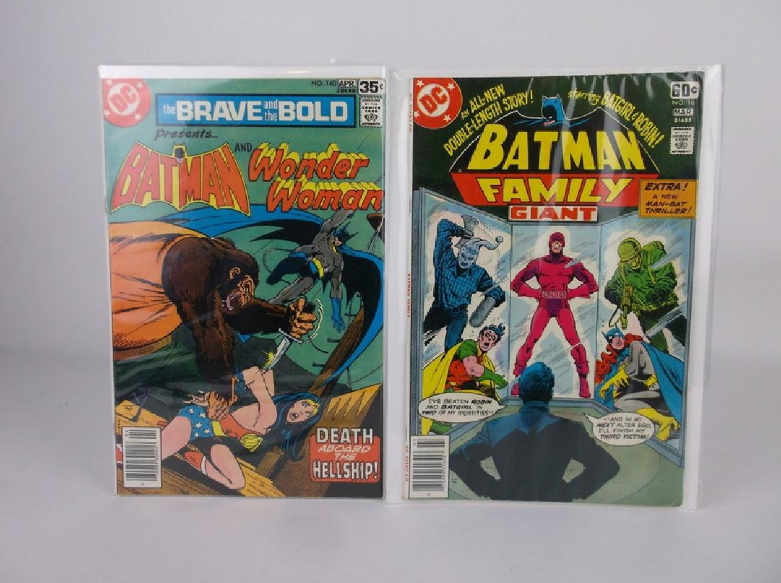 2 Nice 1978 DC Batman Comic Books