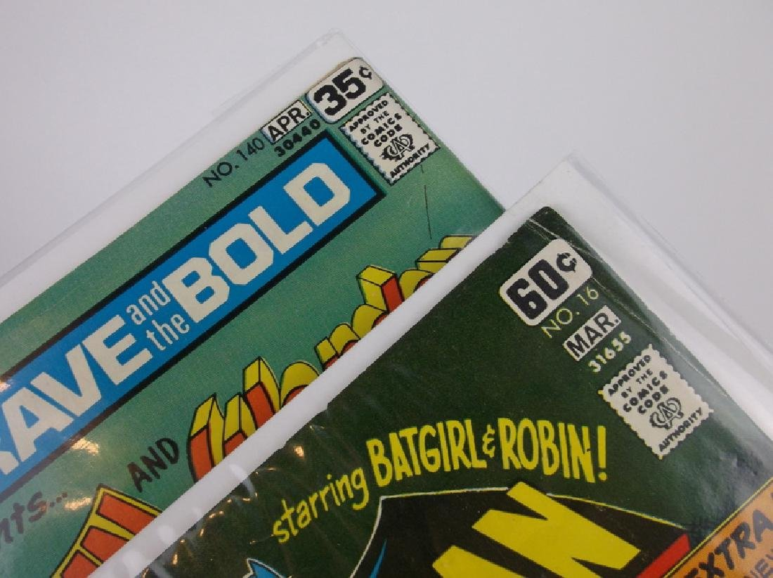 2 Nice 1978 DC Batman Comic Books - 2
