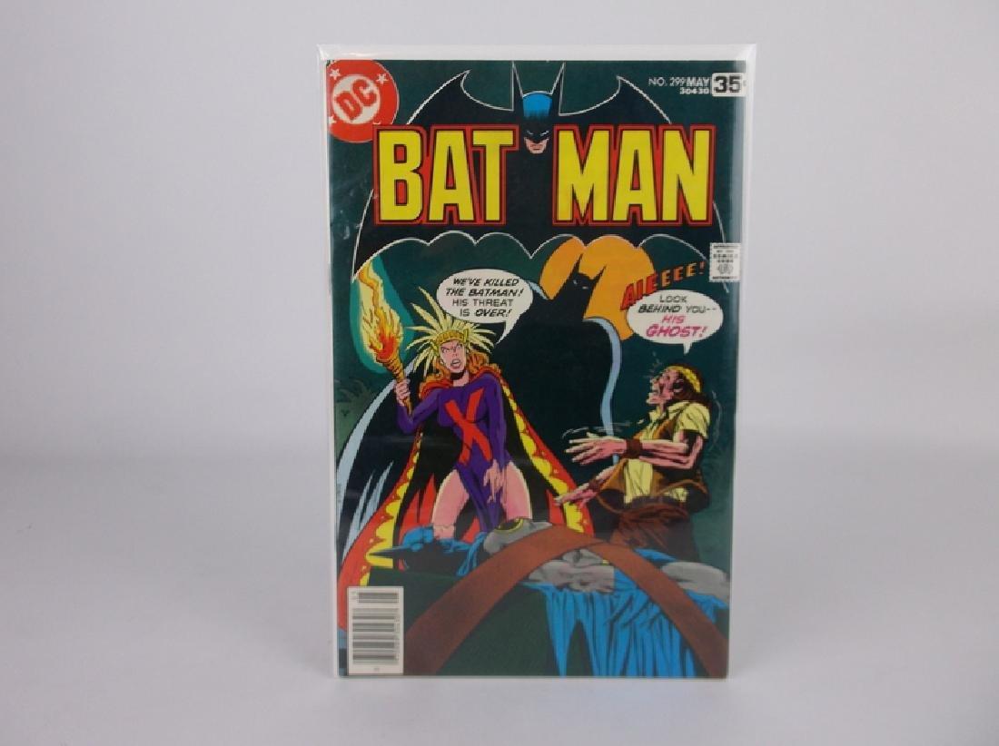 Nice 1978 DC Batman Comic Book #299