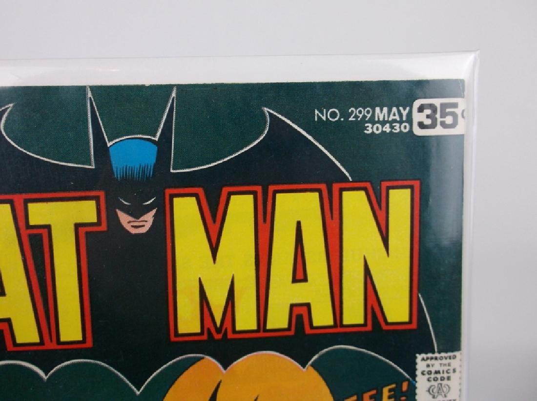 Nice 1978 DC Batman Comic Book #299 - 2