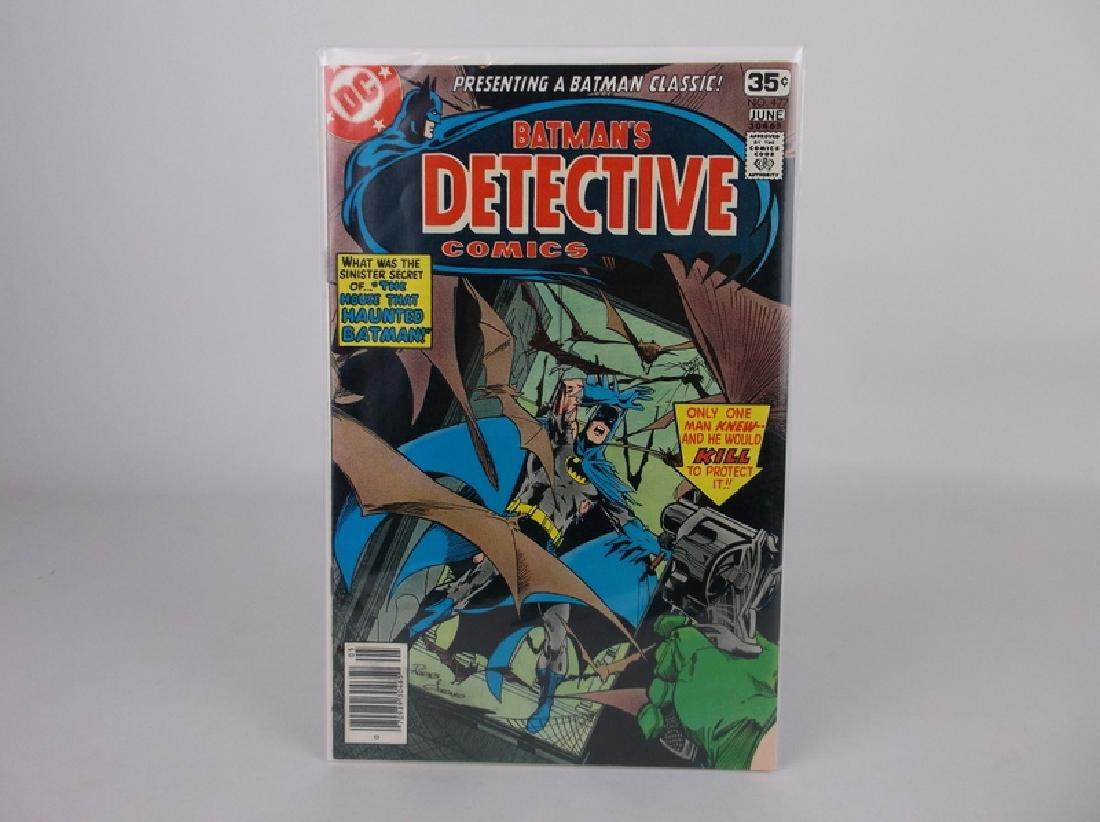 Nice 1978 Detective Batman Comic Book #477 Adams