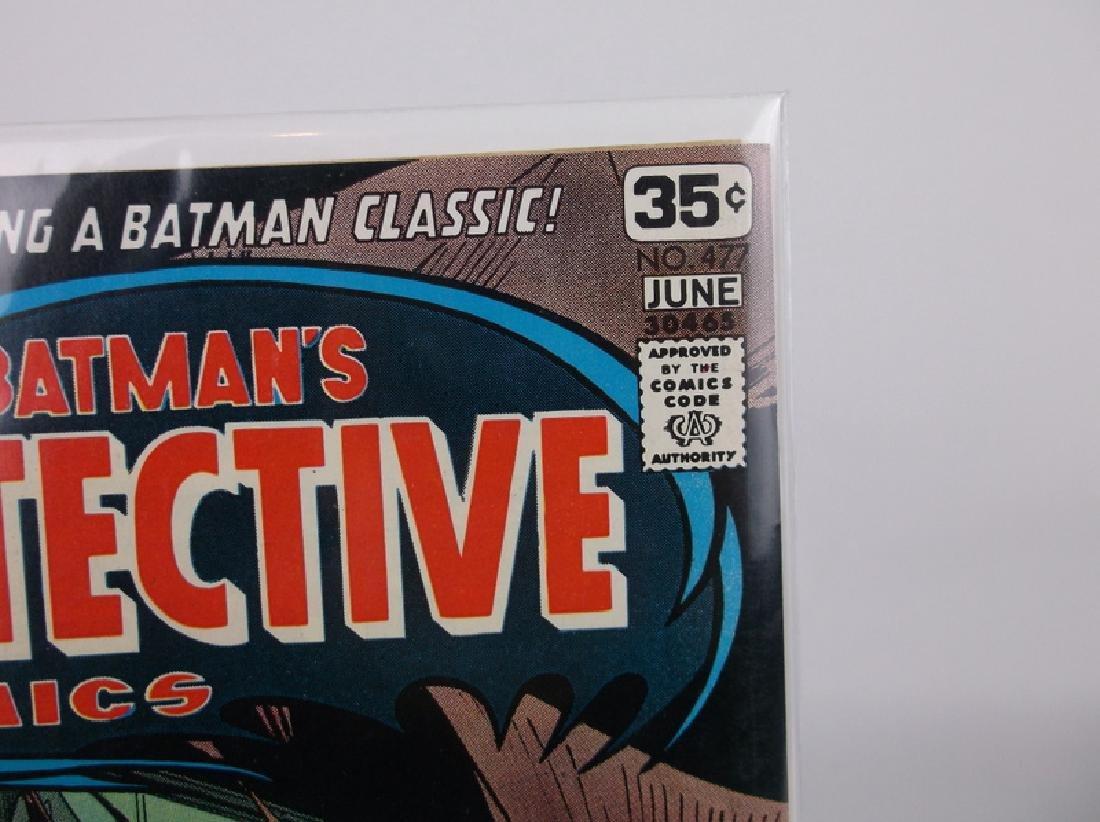 Nice 1978 Detective Batman Comic Book #477 Adams - 2