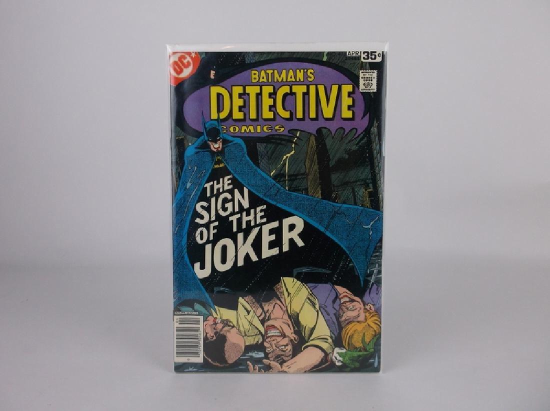 Nice 1978 DC Detective Batman Comic Book #476 Joker