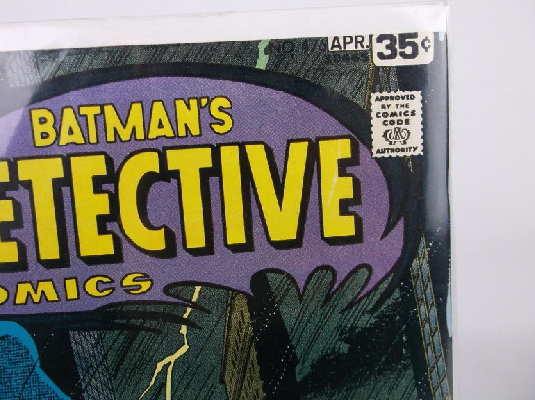 Nice 1978 DC Detective Batman Comic Book #476 Joker - 2