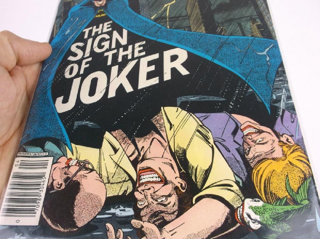 Nice 1978 DC Detective Batman Comic Book #476 Joker - 4