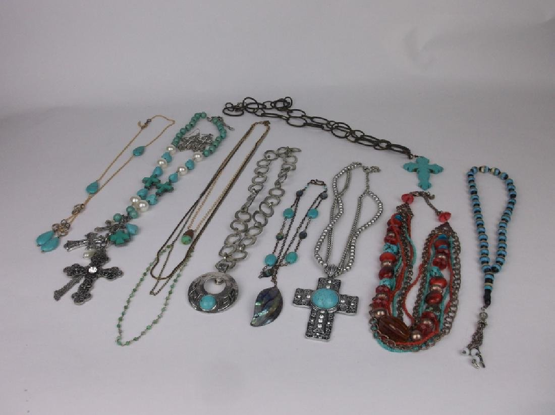 Huge Estate Necklace Lot Southwestern Collection