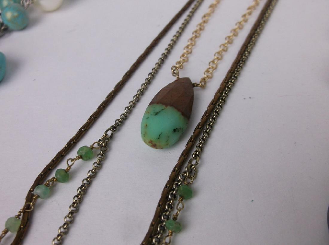 Huge Estate Necklace Lot Southwestern Collection - 2