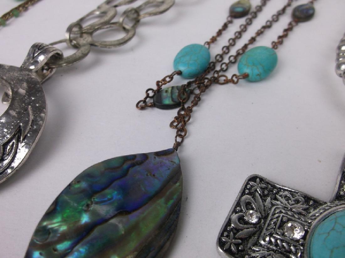 Huge Estate Necklace Lot Southwestern Collection - 3