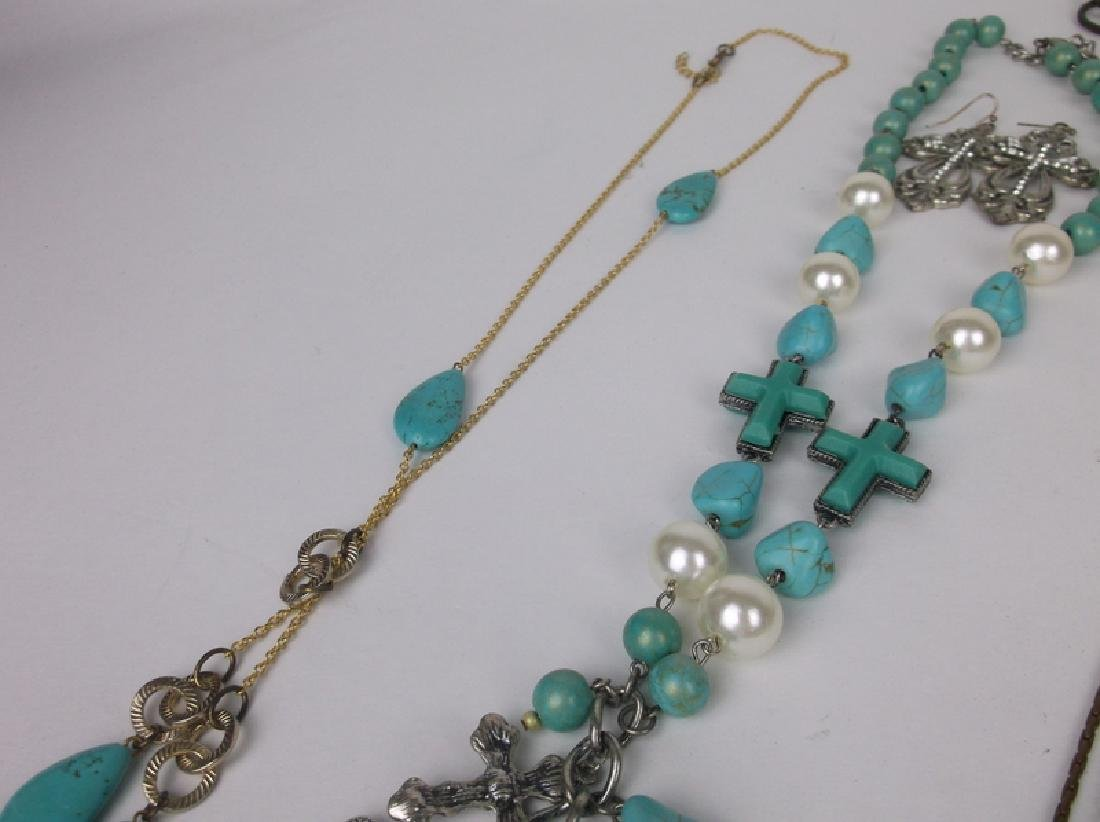 Huge Estate Necklace Lot Southwestern Collection - 6