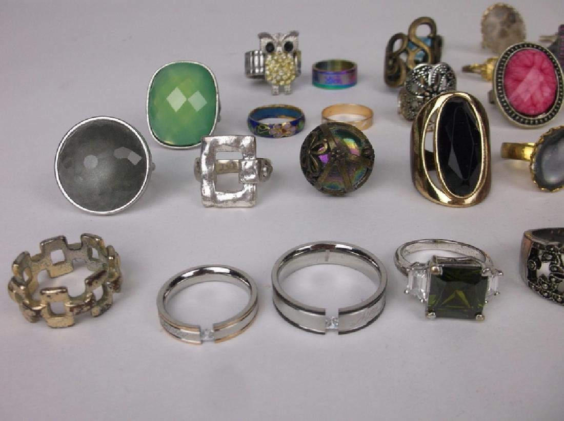 Huge Estate Ring Collection 42 Rings Lot - 2