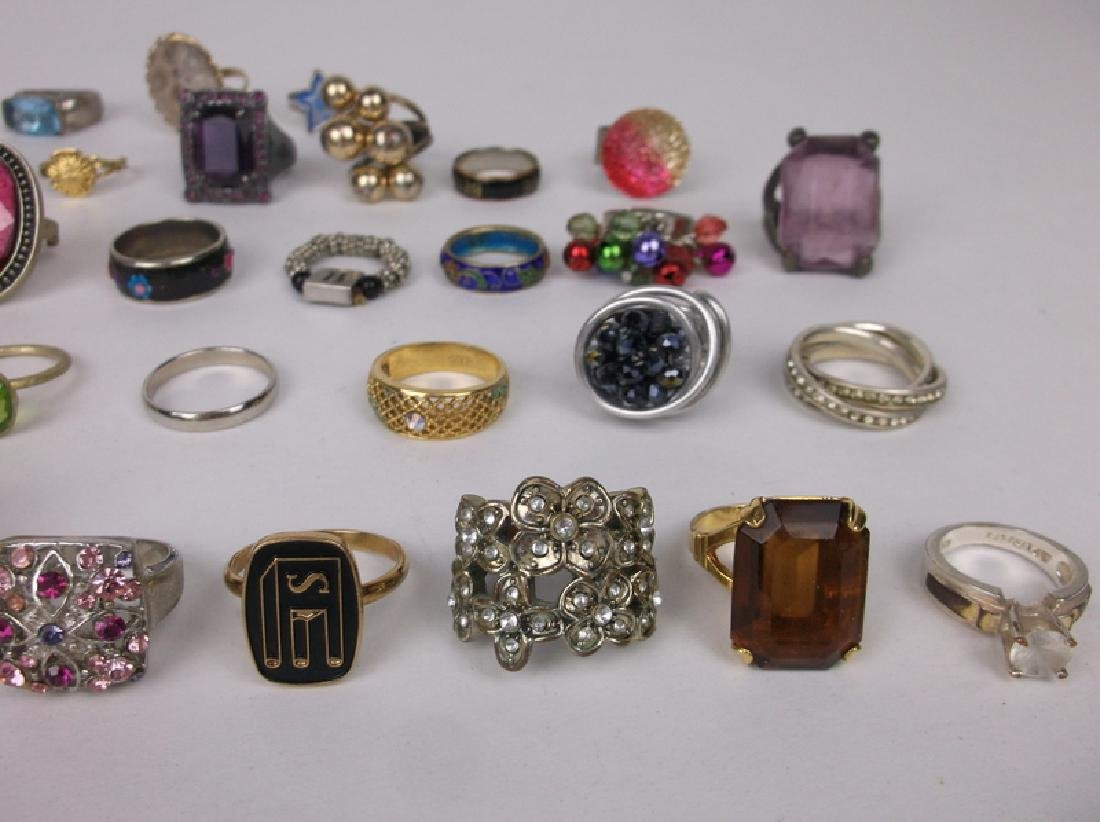 Huge Estate Ring Collection 42 Rings Lot - 4