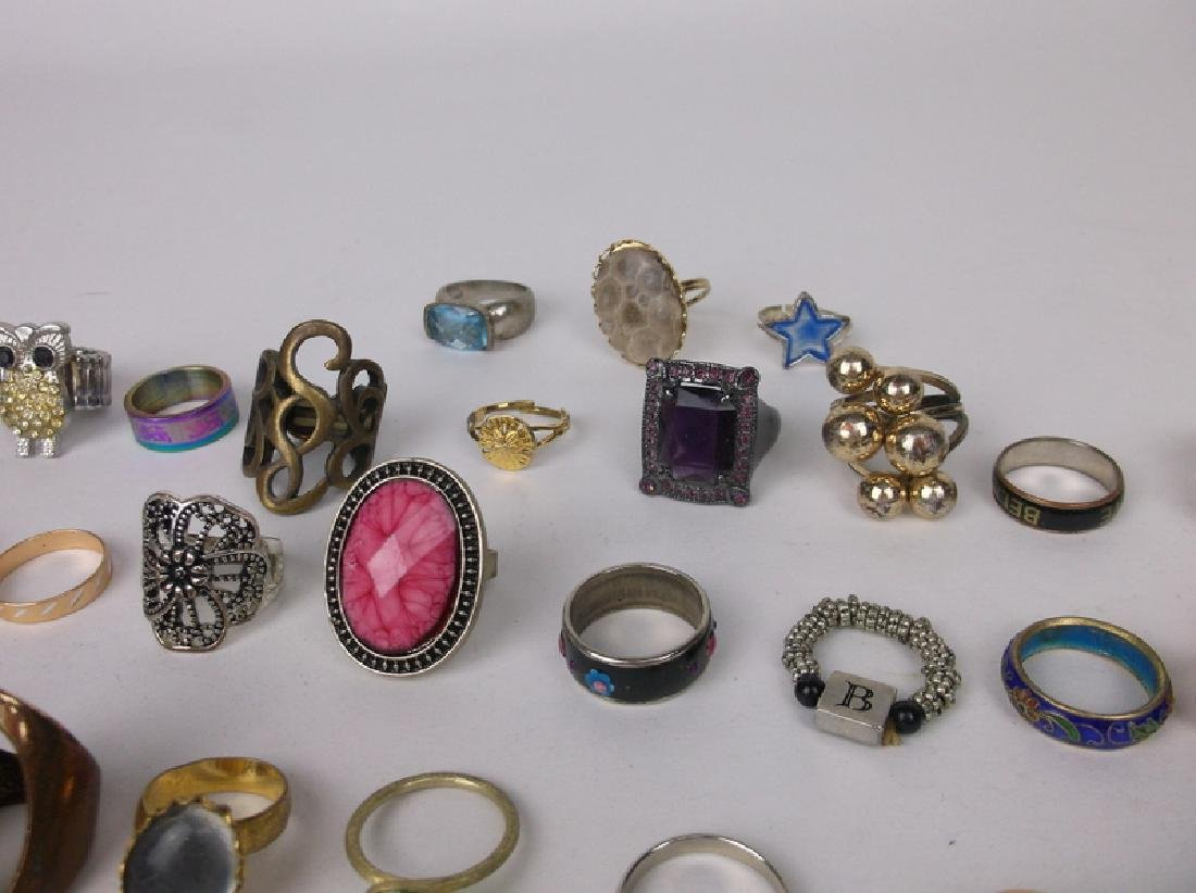 Huge Estate Ring Collection 42 Rings Lot - 5