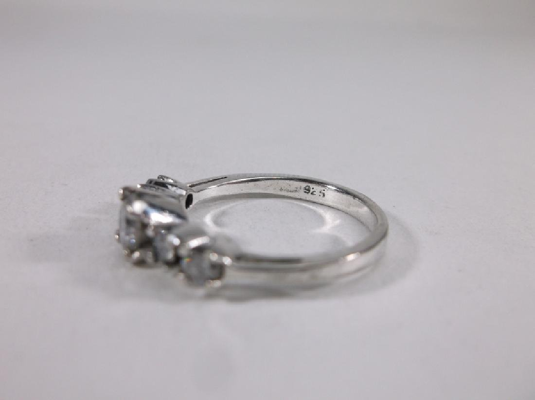 Gorgeous Sterling Silver Engagement Ring 6 - 2