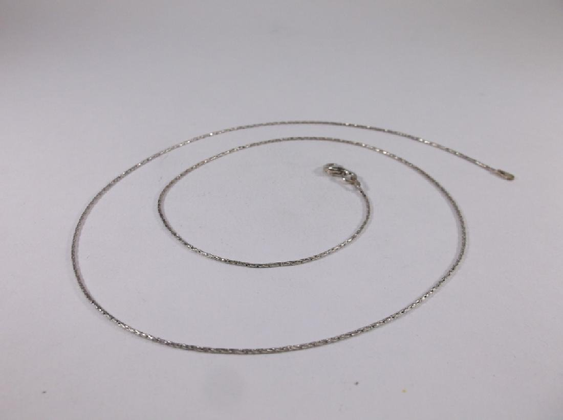 """New Sterling Silver Chain Necklace 20"""""""