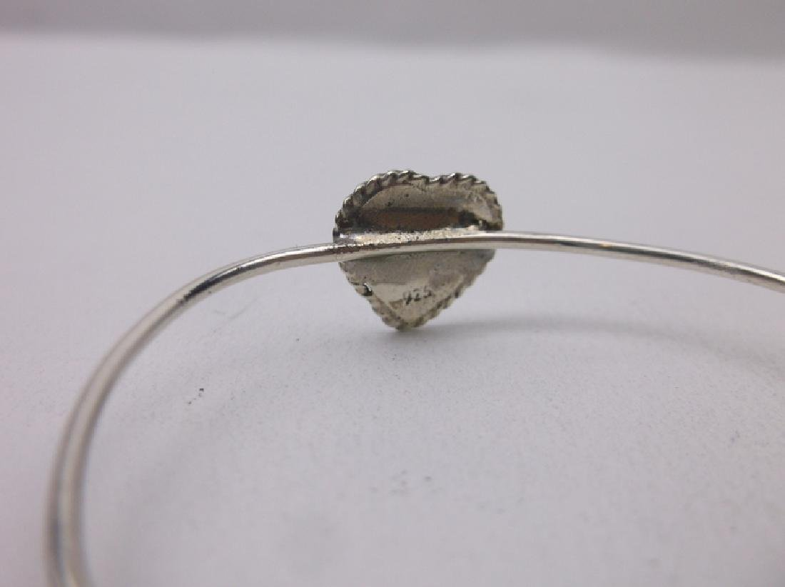 Gorgeous Sterling Silver Baby Cuff Bracelet - 2