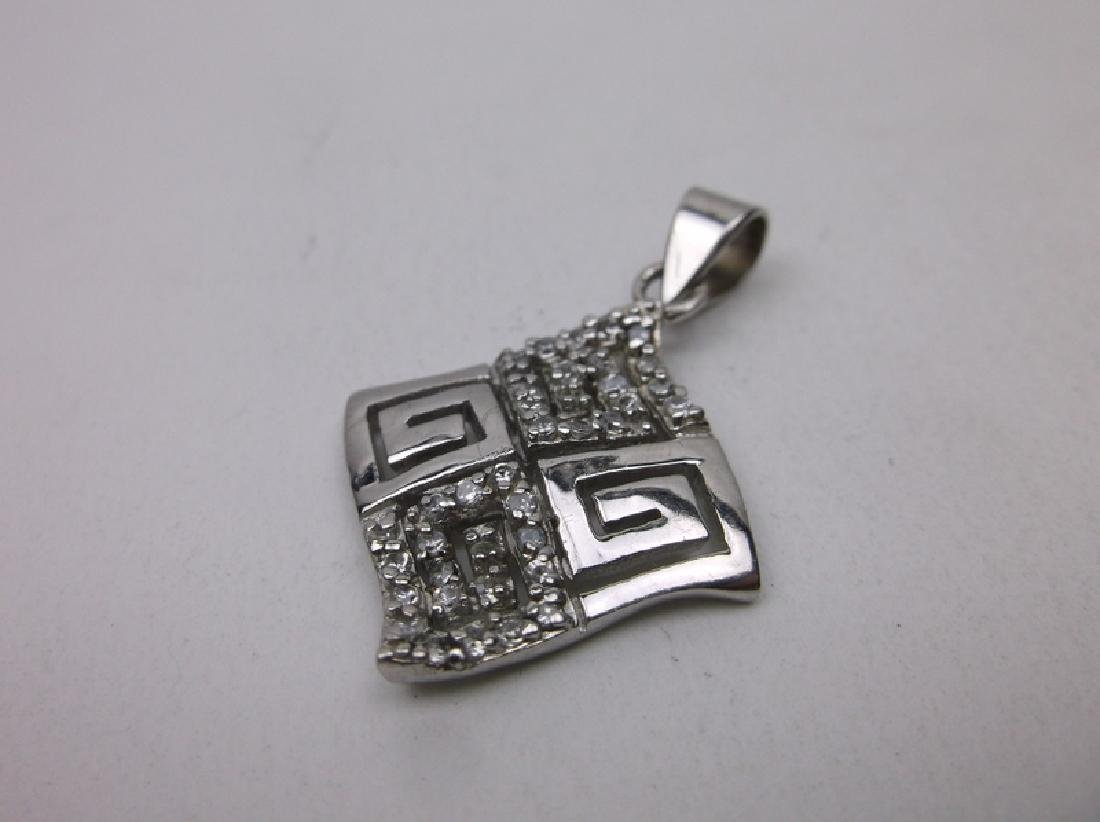 Gorgeous Sterling Silver Design Pendant