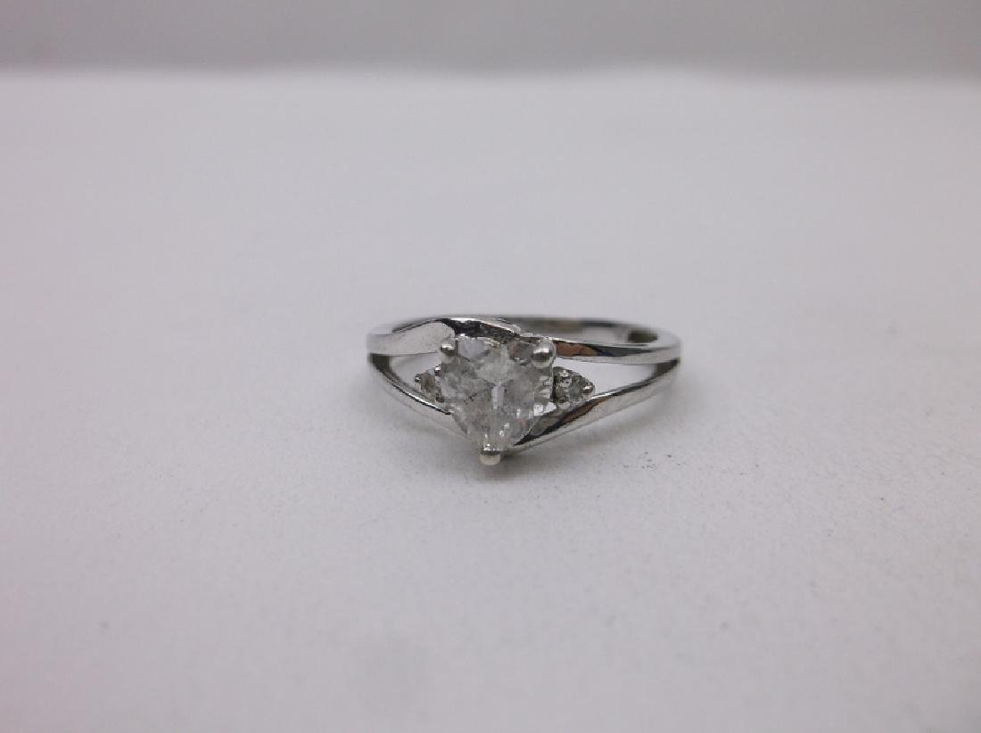 Gorgeous Sterling Silver Engagement Ring 7 - 2