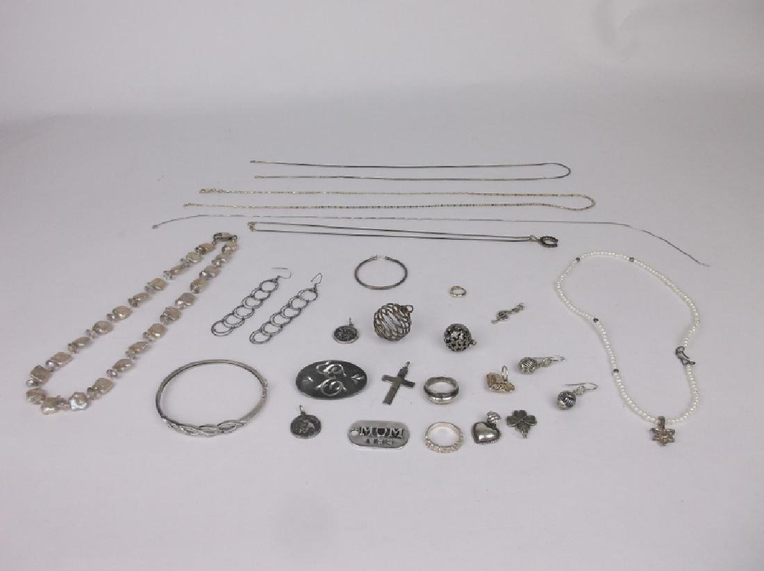 ALL Sterling Silver Wear & Repair Lot Barse Etc