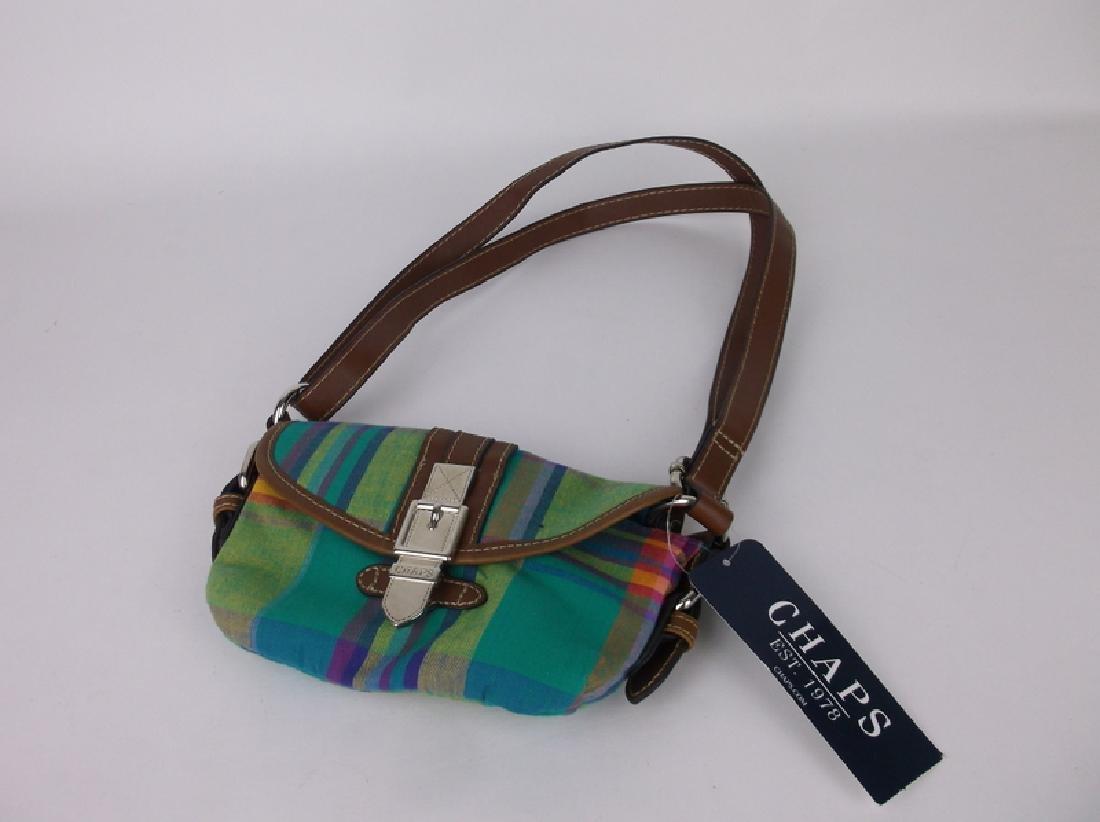 NWT New Polo Chaps Handbag Purse Spring