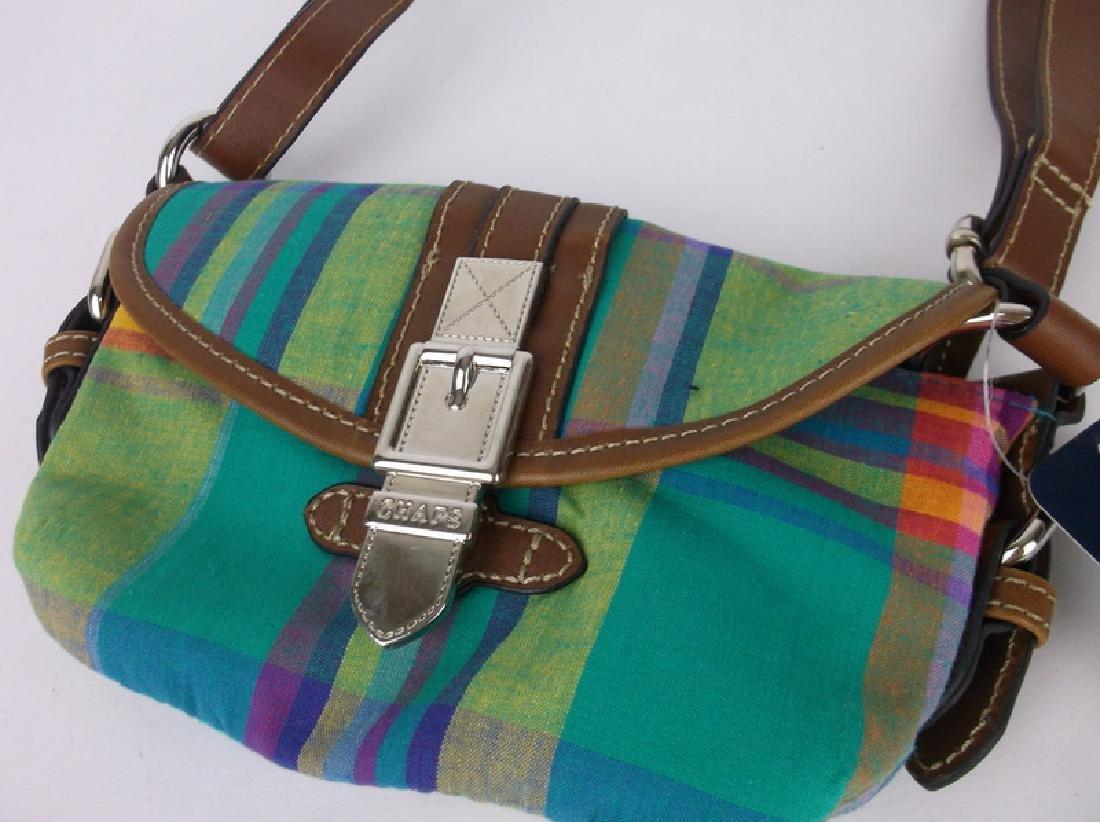 NWT New Polo Chaps Handbag Purse Spring - 2