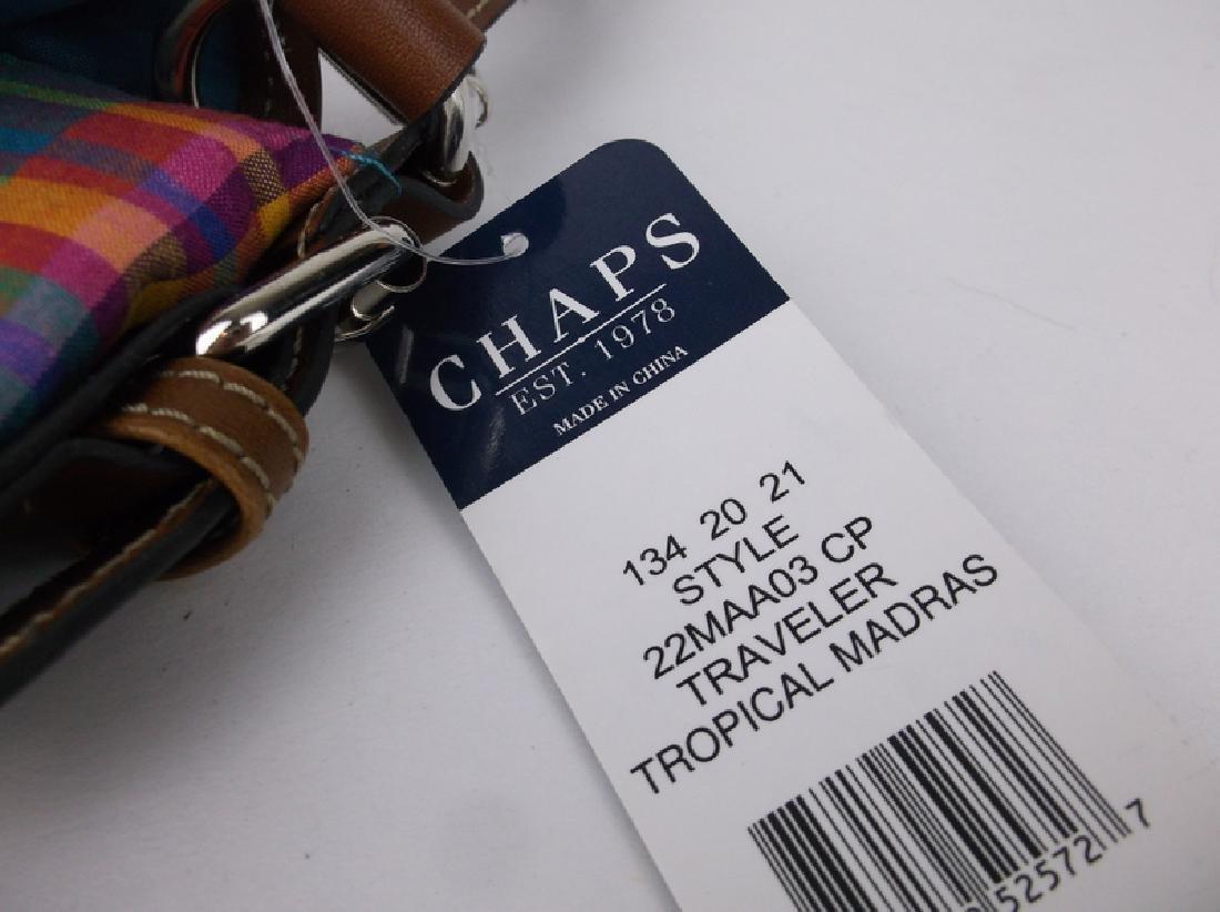NWT New Polo Chaps Handbag Purse Spring - 3