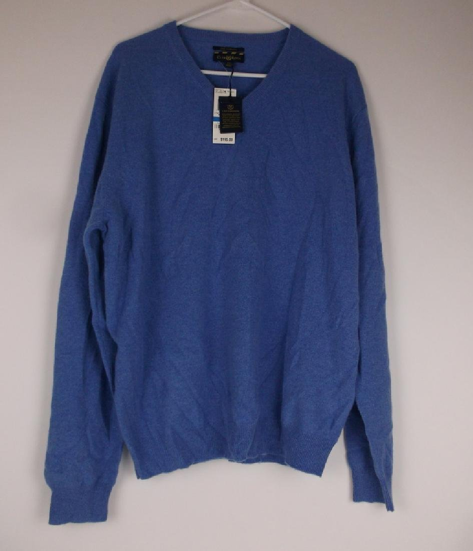 New Mens Club Room Cashmere Sweater $195