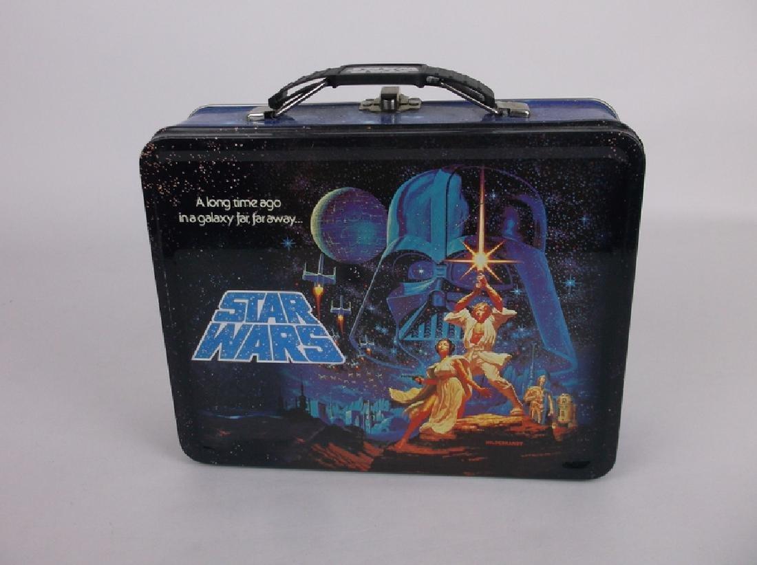 Star Wars Metal Lunchbox Luke Leia Full Size