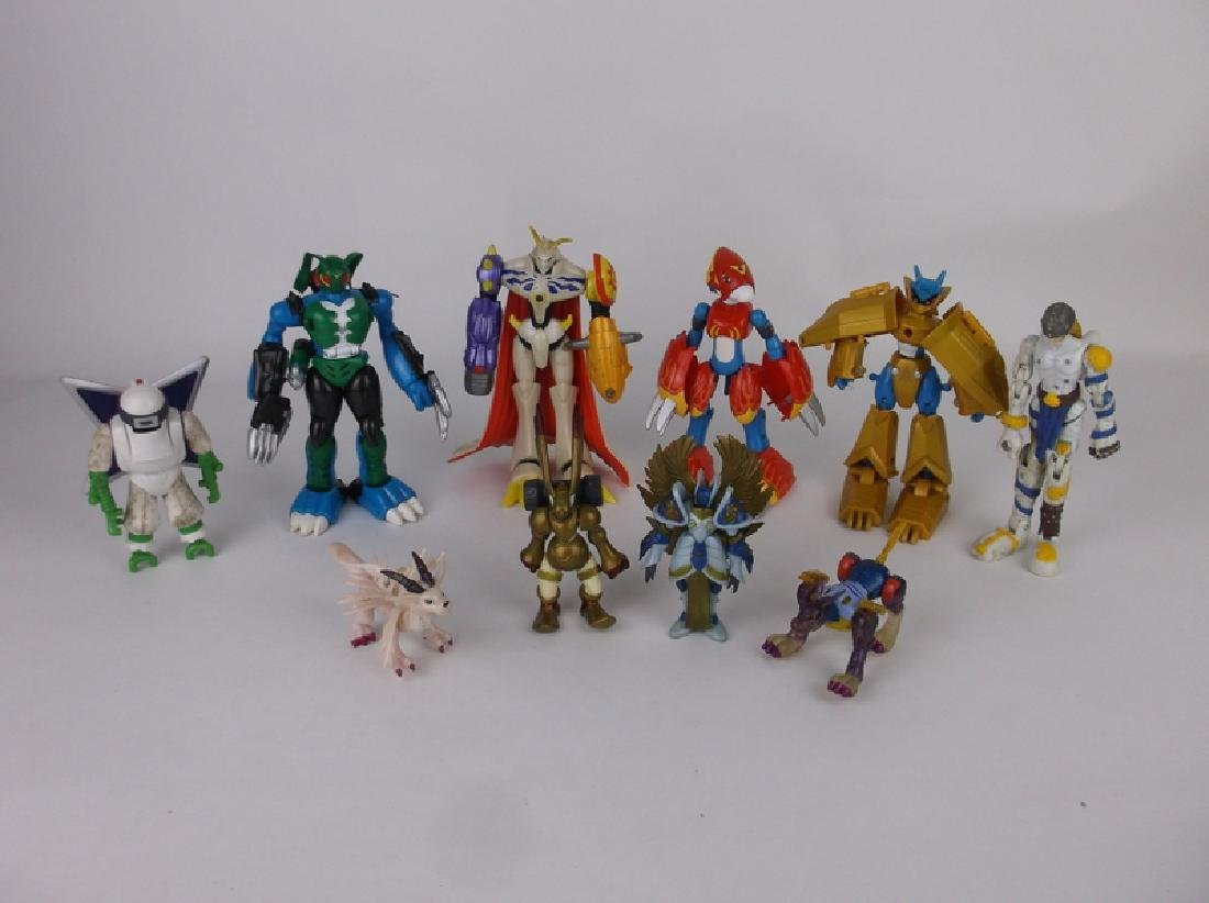 Vint Power Rangers Action Figures Collection