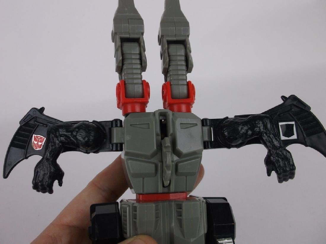 Vint 1987 G1 Transformers Doublecross Dragon Monsterbot - 4