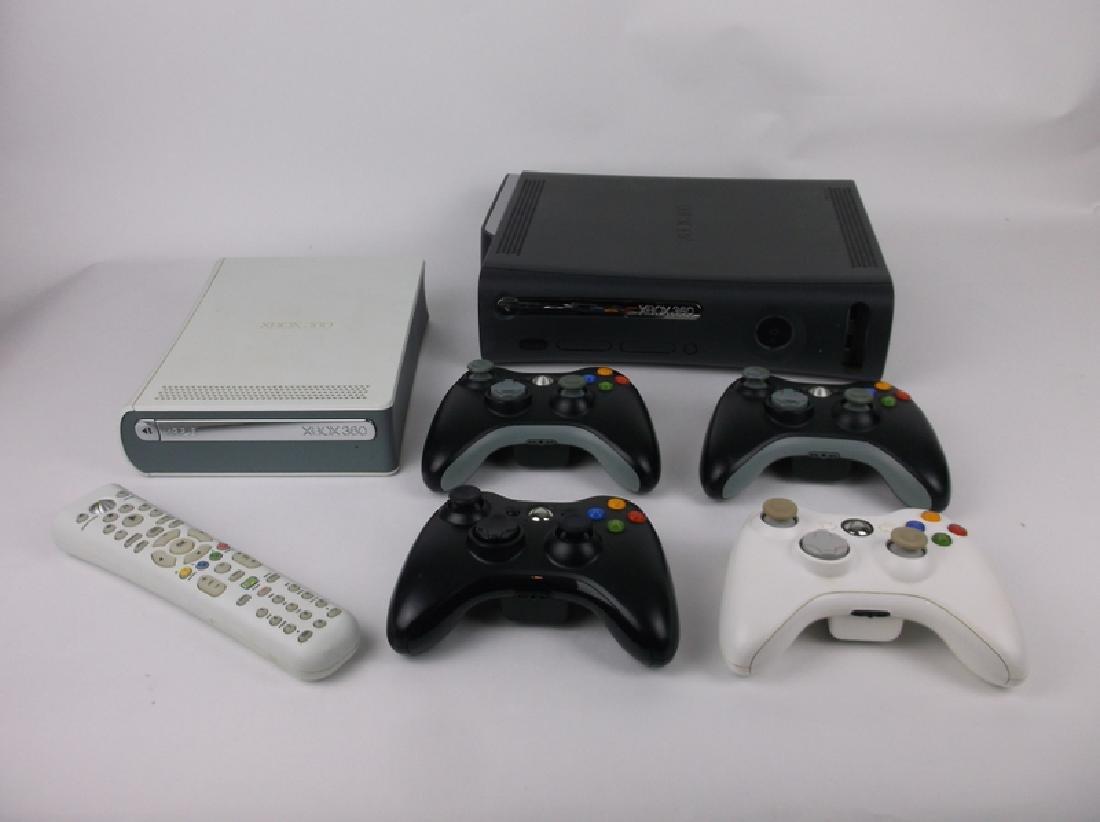 Xbox 360 Console HD DVD 4 Controls Remote Set
