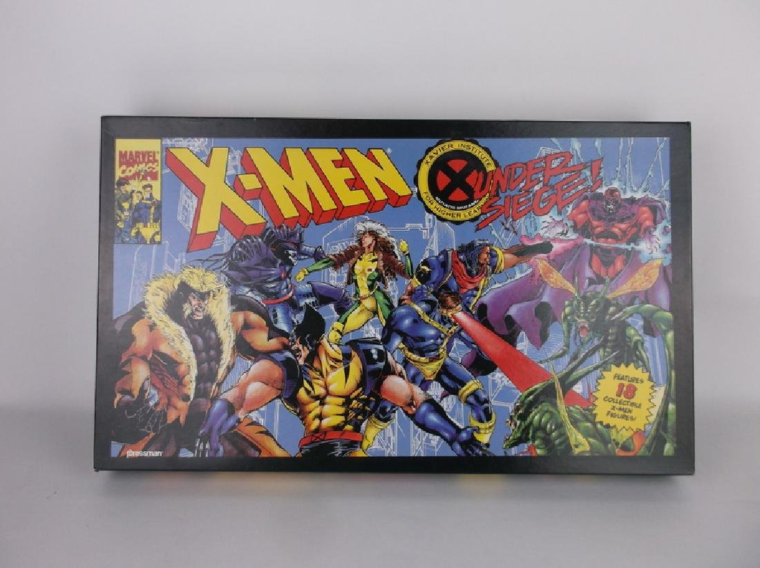 Xmen Under Siege Board Game Complete