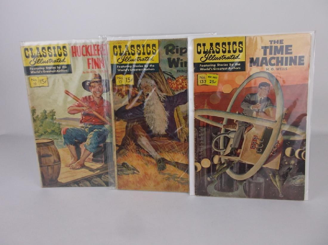 3 Classics Illustrated Comic Books 1960s 70s