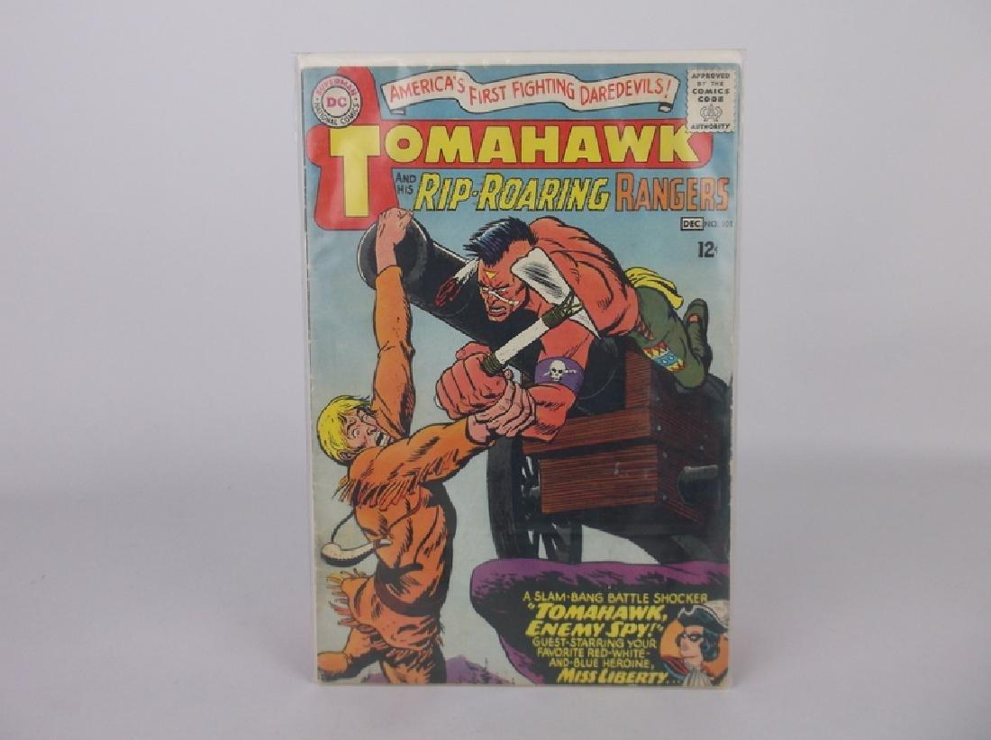 1965 DC Tomahawk Comic Book #101