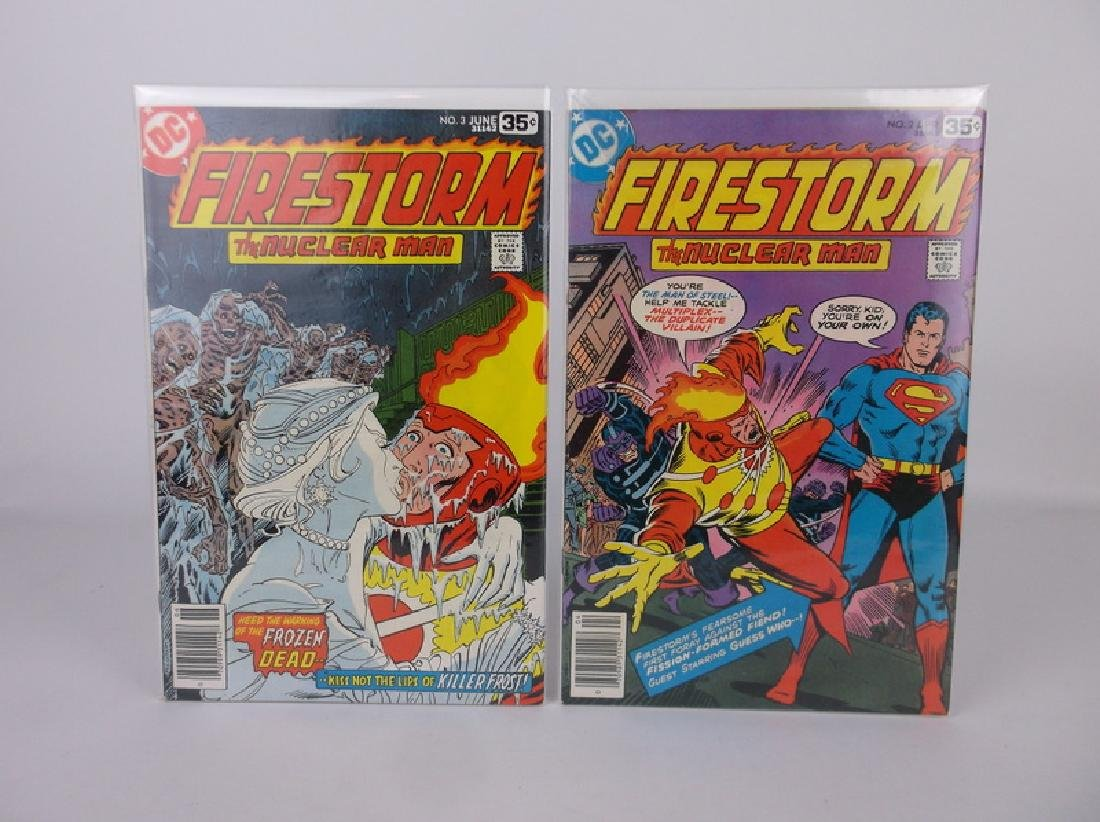 Nice 1970s DC Firestorm Comic Books 2-3