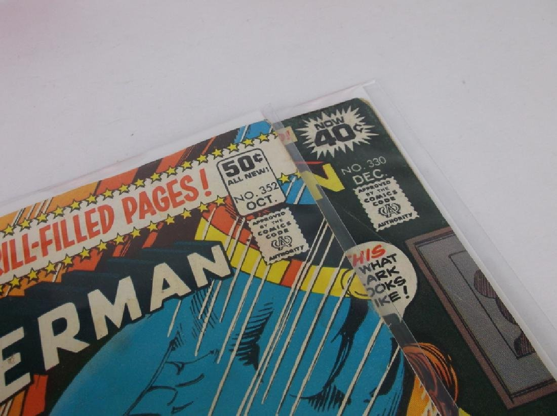 2 Nice 1978-80 Superman Comic Books DC - 2