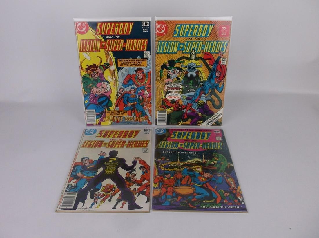 4 Nice 1978 DC Superboy Comic Books
