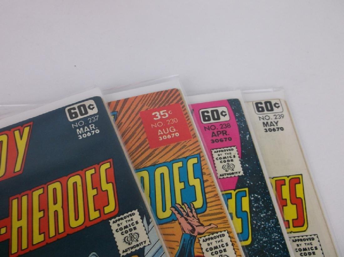 4 Nice 1978 DC Superboy Comic Books - 2