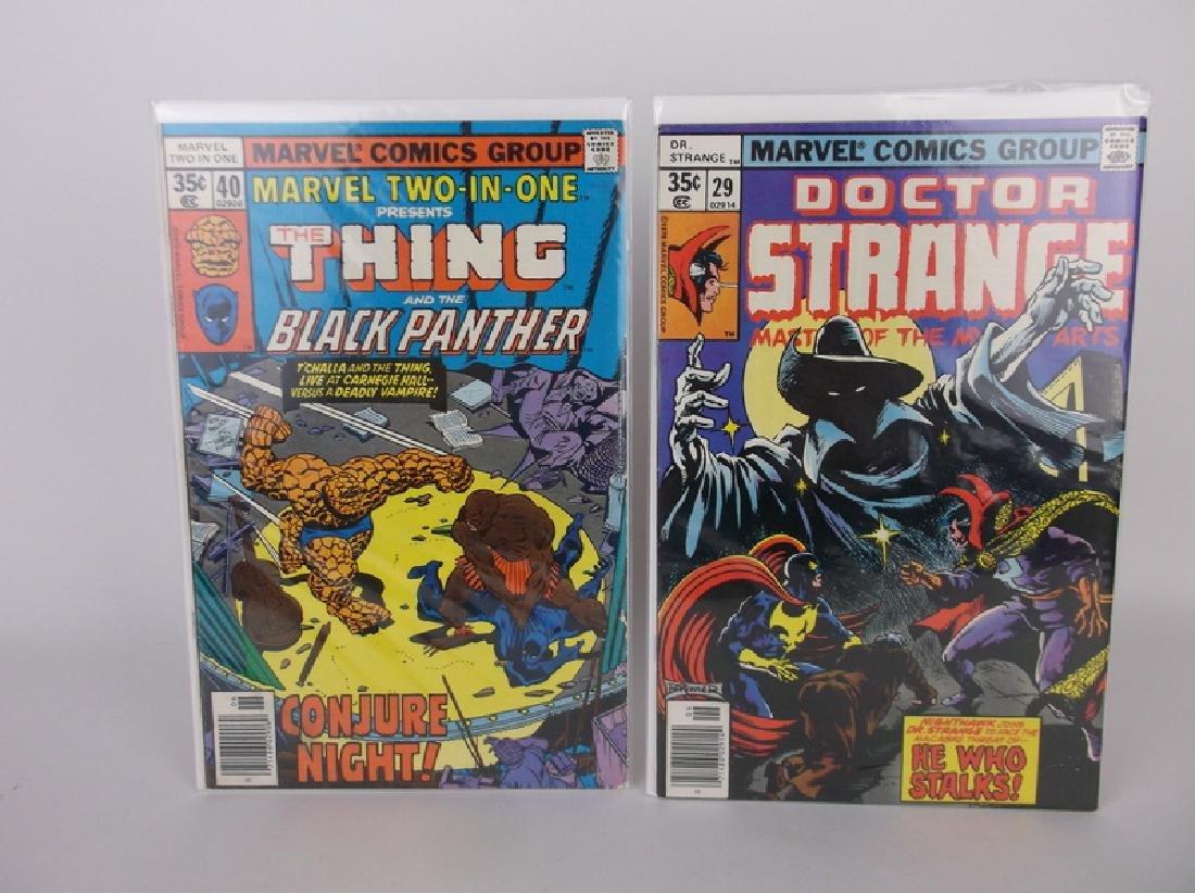 2 Nice 1978 Black Panther Dr Strange Comics